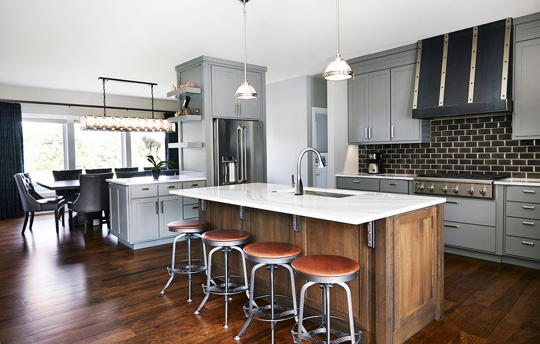 $500,000-$750,000 Homes of the Year Winner Timeless American Home Kitchen