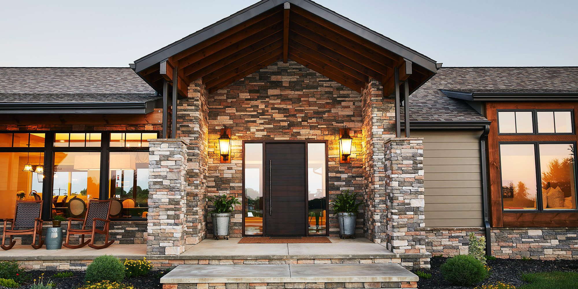 $750,000-$1 Million Homes of the Year Winner Contemporary Ranch Home Exterior