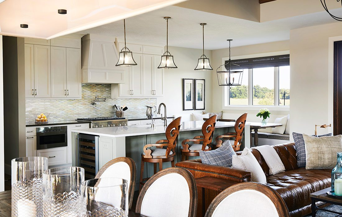 $750,000-$1 Million Homes of the Year Winner Contemporary Ranch Home Kitchen