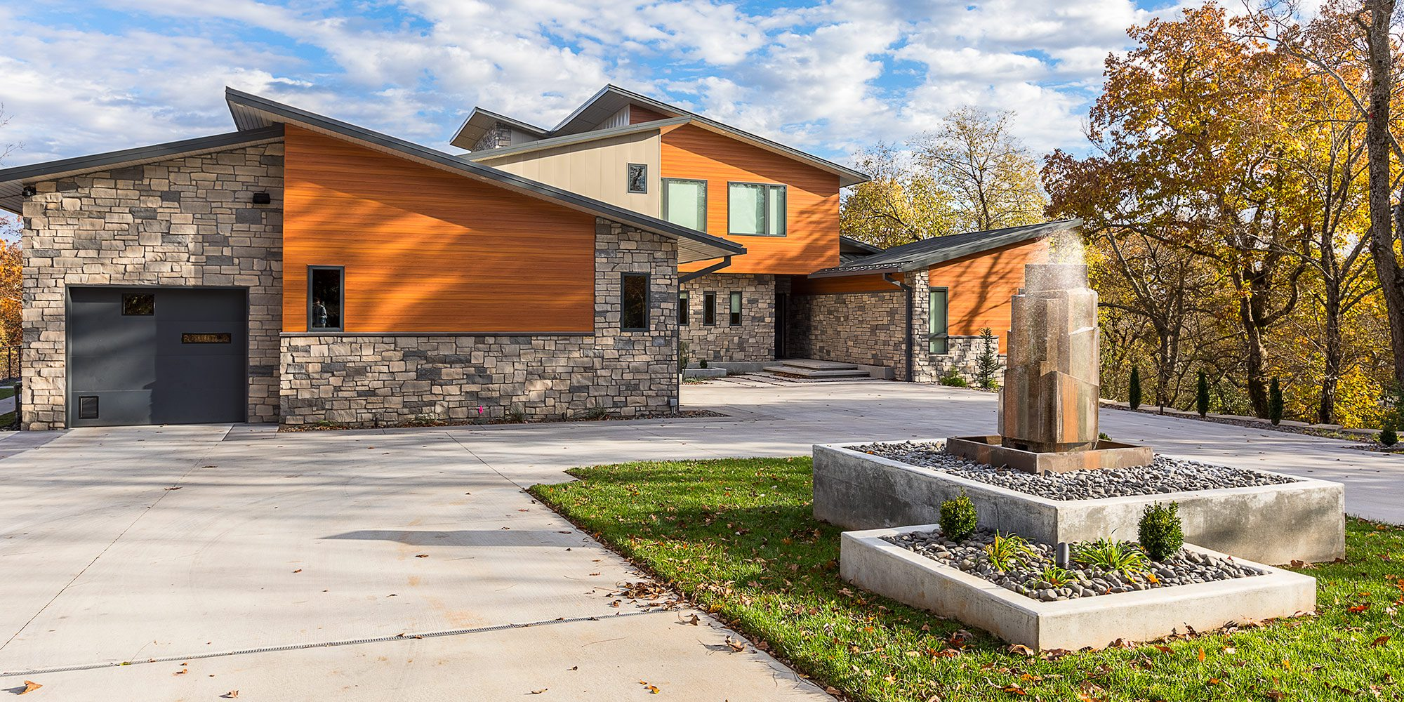 $1 Million Dollar Plus Home of the Year Winner Modern Home Exterior