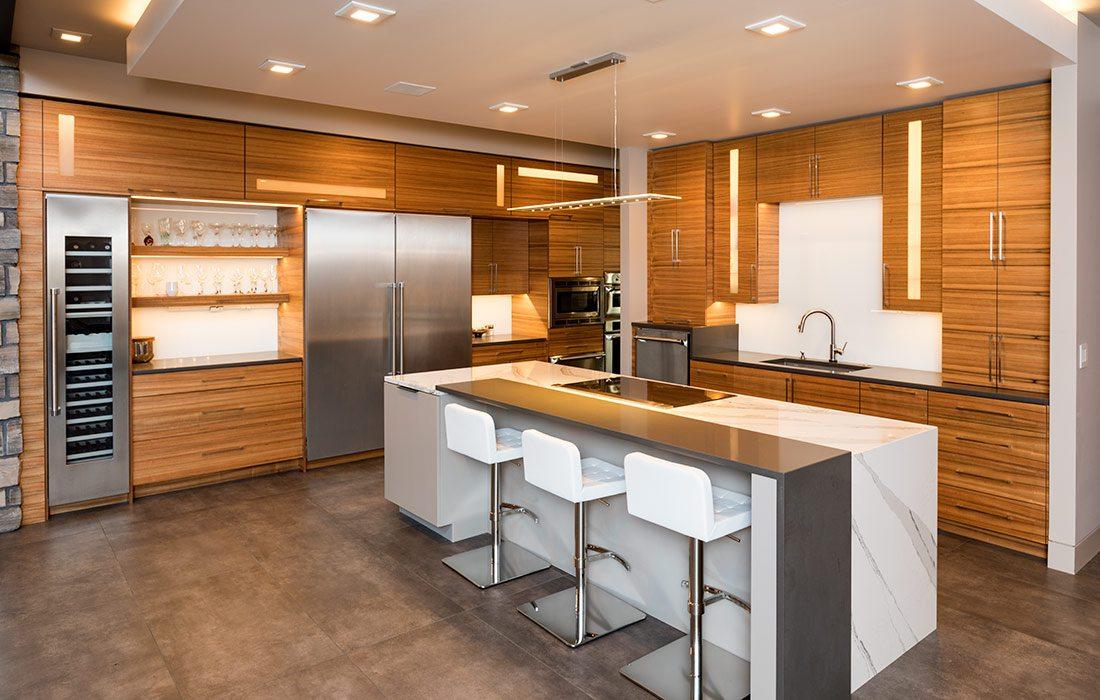 $1 Million Dollar Plus Home of the Year Winner Modern Home Kitchen