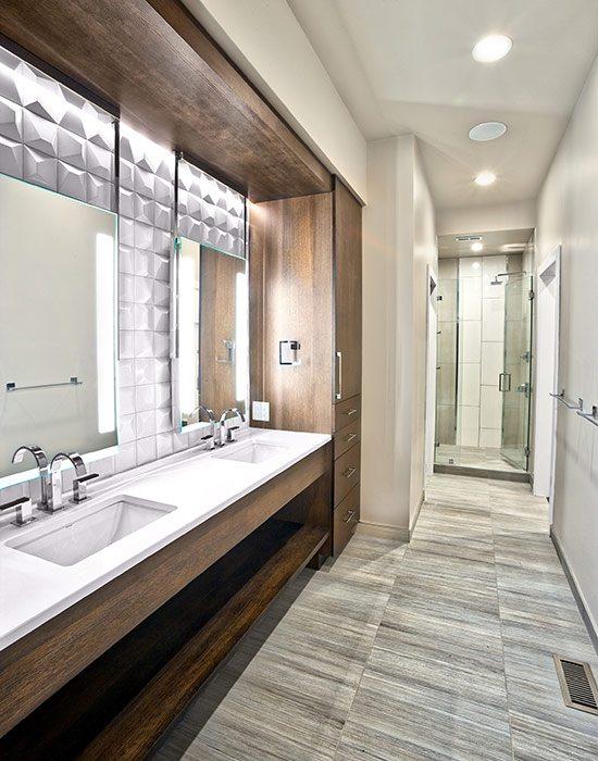 $1 Million Dollar Plus Home of the Year Winner Modern Home Master Bathroom