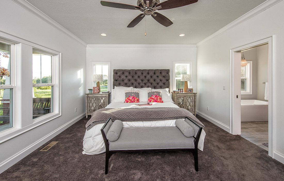$500,000 to $750,000 2015 Homes of the Year Winner - Master Bedroom