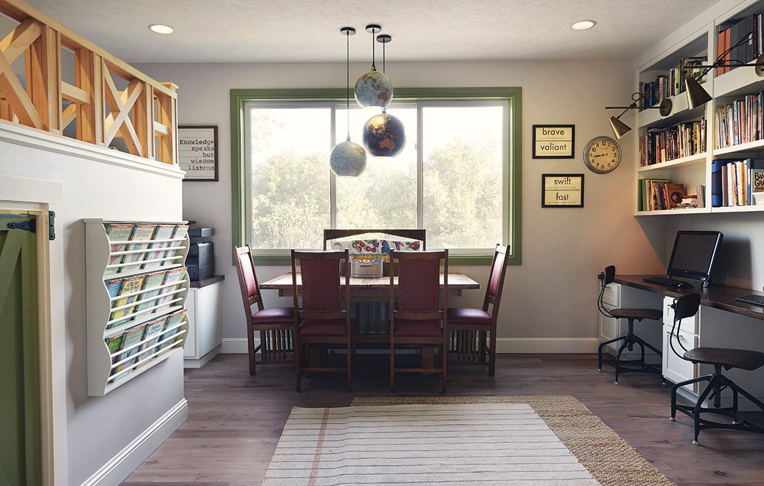 $750,000 to $1 Million 2015 Homes of the Year Winner - Homeschool Room
