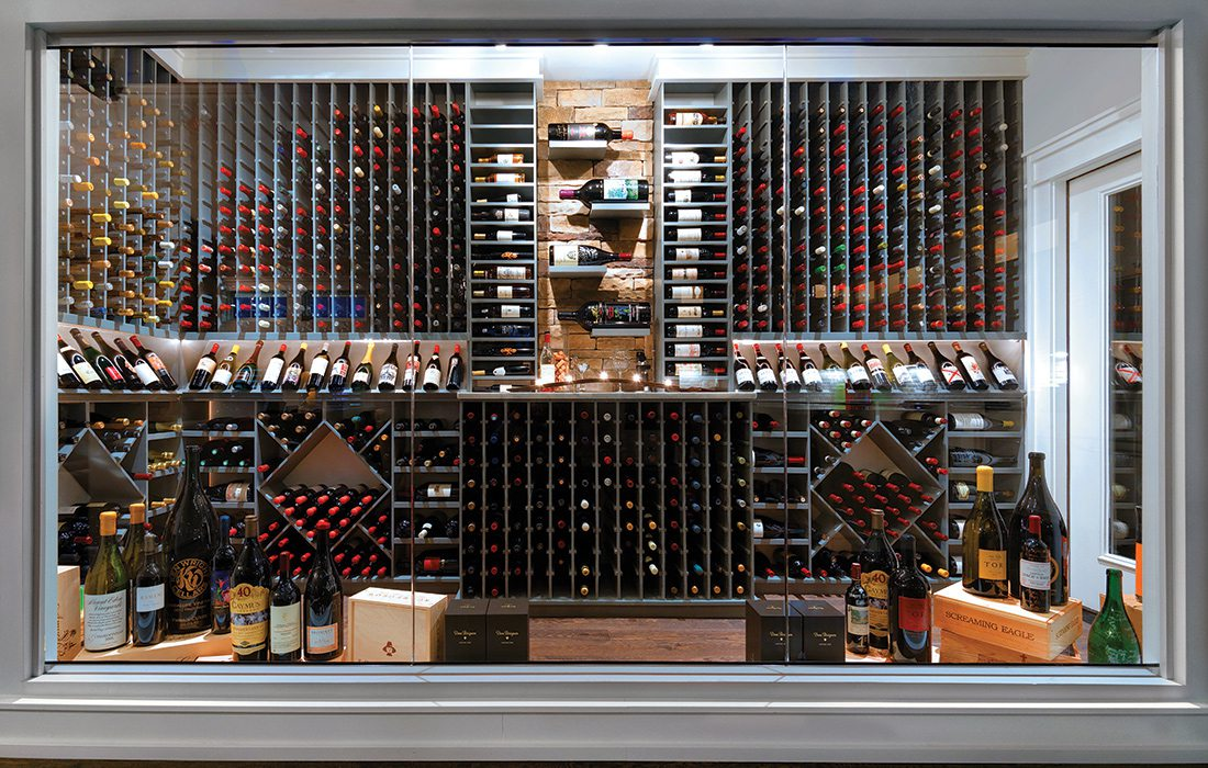 $500,000 and Less 2015 Homes of the Year Winner - Wine Cellar