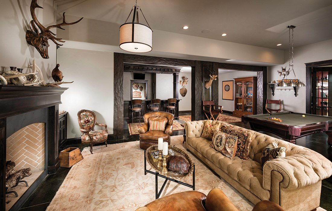 More Than $1 Million 2015 Homes of the Year Winner - Basement
