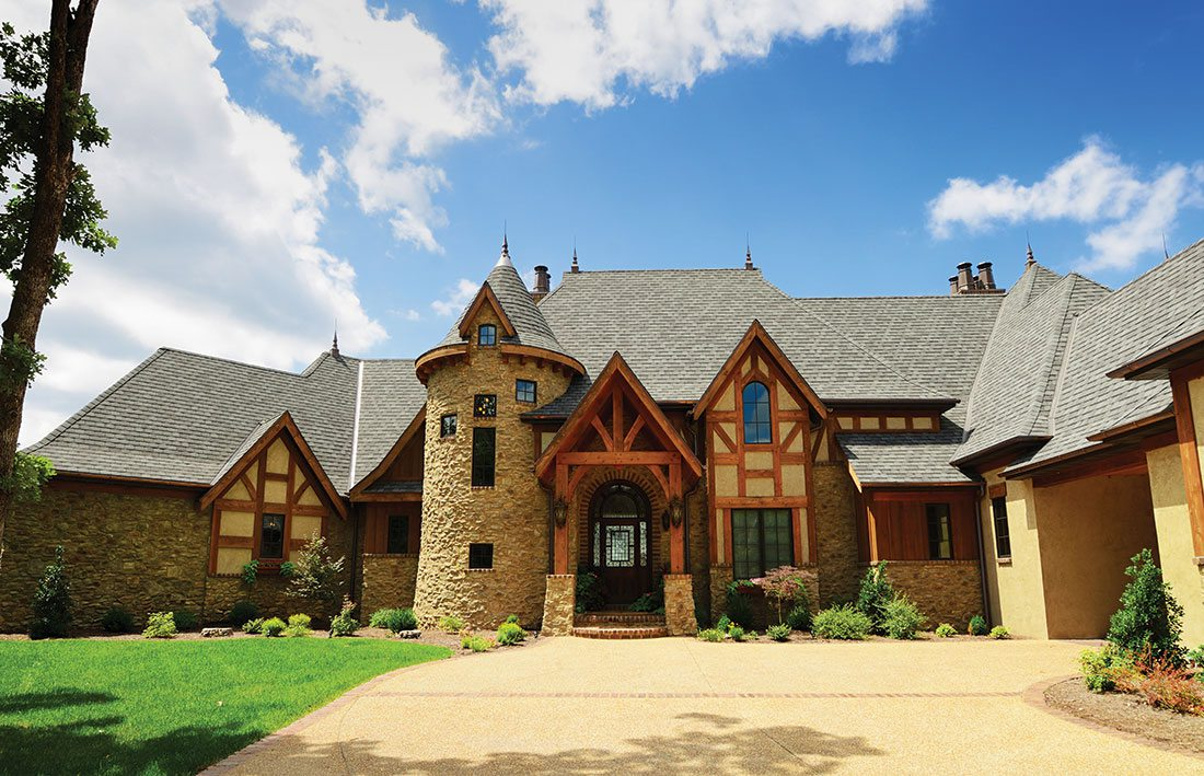 european home exterior design