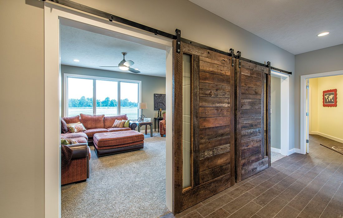 sliding barn doors in the home