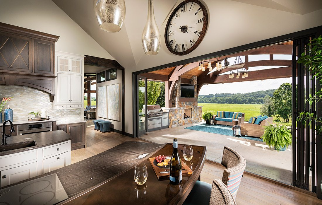 Kitchen of the $1 million Home of the Year winner in southwest Missouri