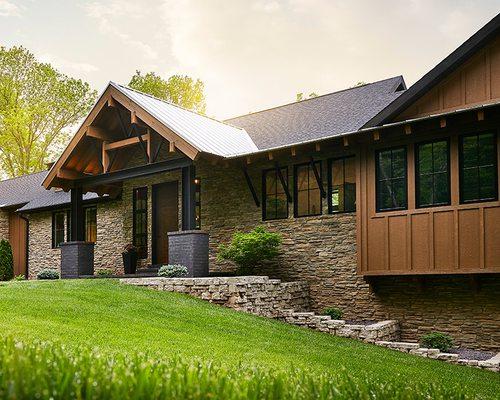 Rustic modern home in Springfield MO