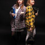 Slider Thumbnail: Haley Phillips and Sara Gensler Halloween 2019