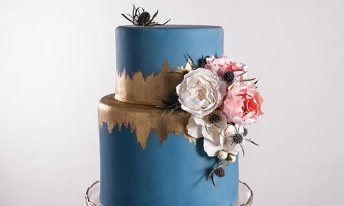 Handpainted Wedding Cakes