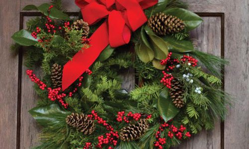 Hands-On Holiday wreath