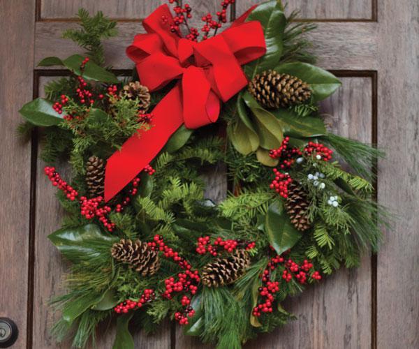 Wreath making in Springfield, MO
