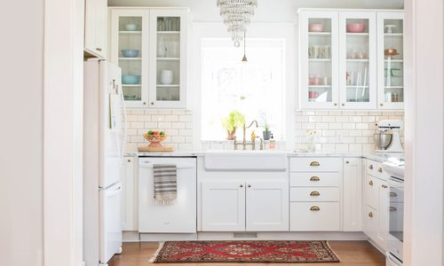 Classic Kitchen Makeover Adds Modern Touches