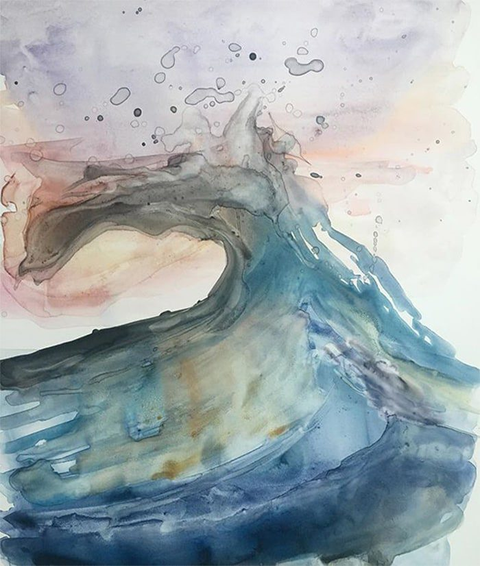 Hannah Bunch Submerge Art - By Hannah Bunch