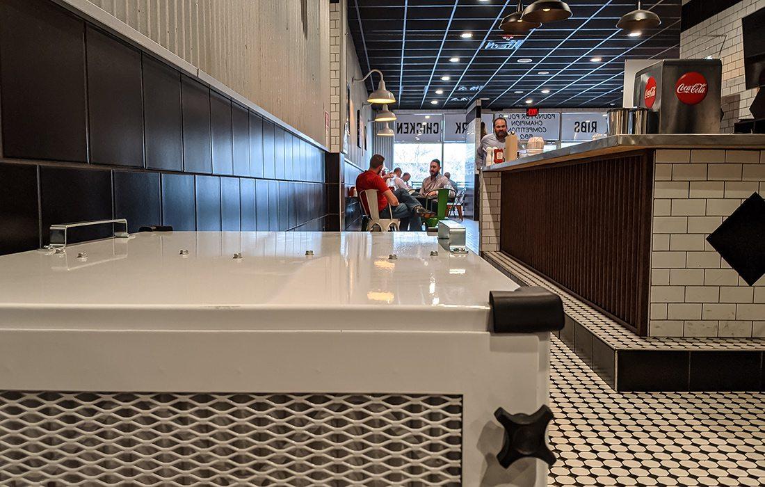 Loren Cook Company air purifier at Hard Knox BBQ Springfield MO