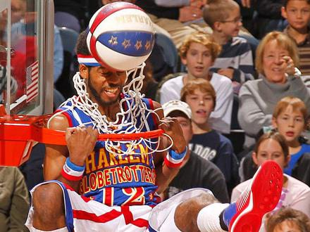 Harlem Globetrotters at JQH Arena