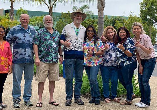 Jack Henry & Associates employees celebrating together