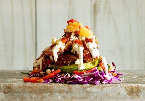 Hawaiian tuna taco from Great American Taco Co.