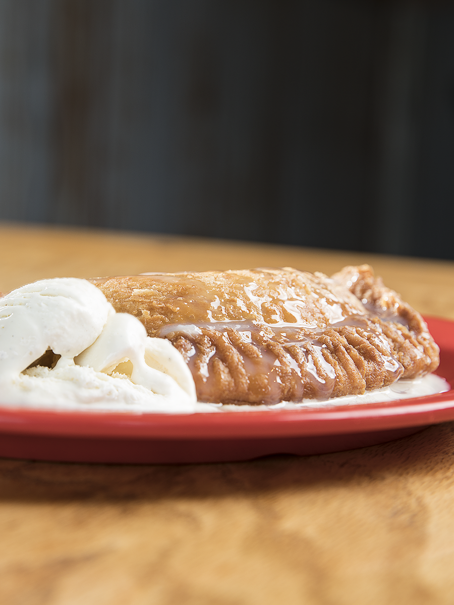 Heady Bar-B-Que Fried Pie