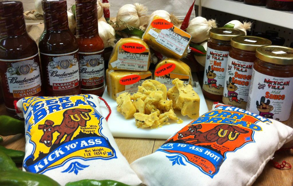 Gourmet cheese variety at Heather Hill Farms in Ozark, Missouri