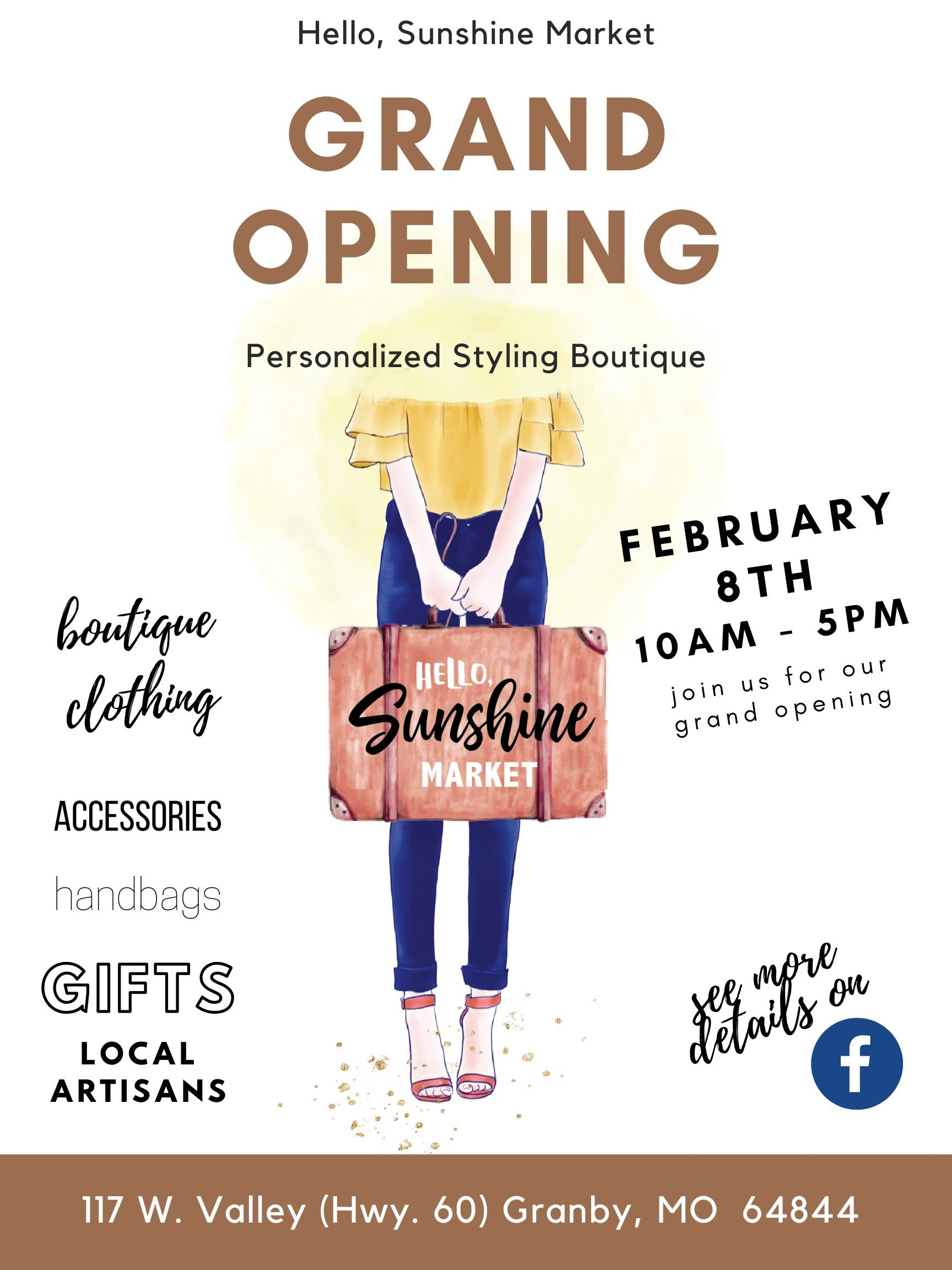 Boutique opening in Granby, MO
