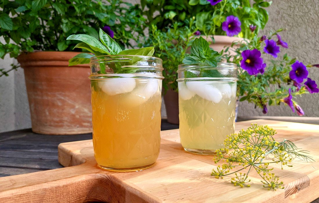 Herb cocktails from Jesse Stone
