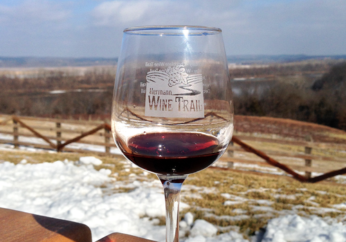 Hermann Wine Trail in Missouri
