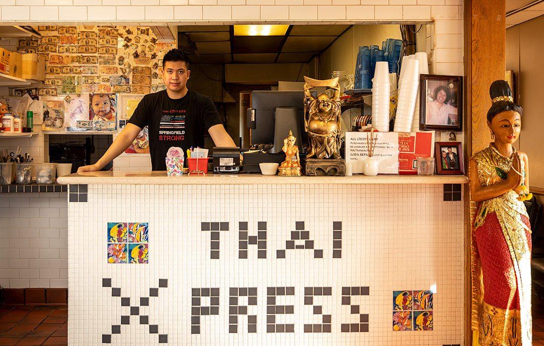Patrick Nett of Thai Express Springfield MO