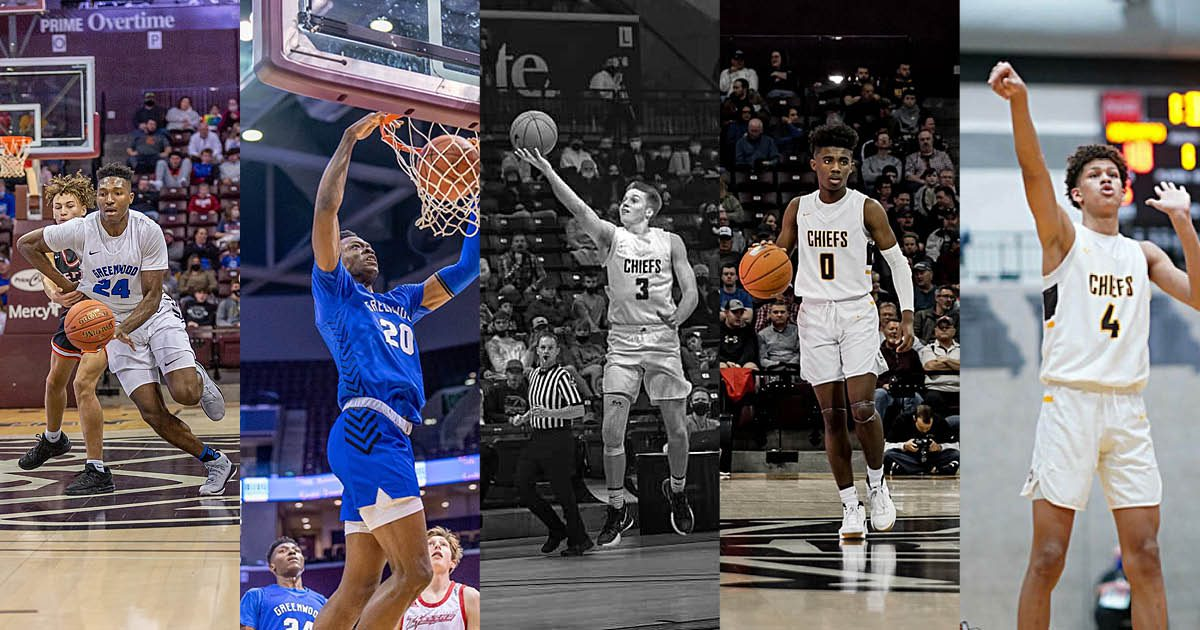 High school basketball players in Springfield MO
