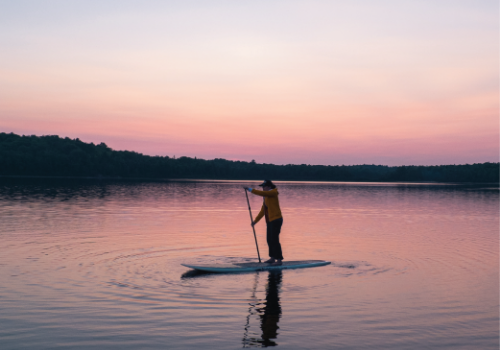 Hike & Full Moon SUP with 37 North Expeditions