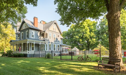 Historic Victorian Home on Walnut Street in Springfield Missouri