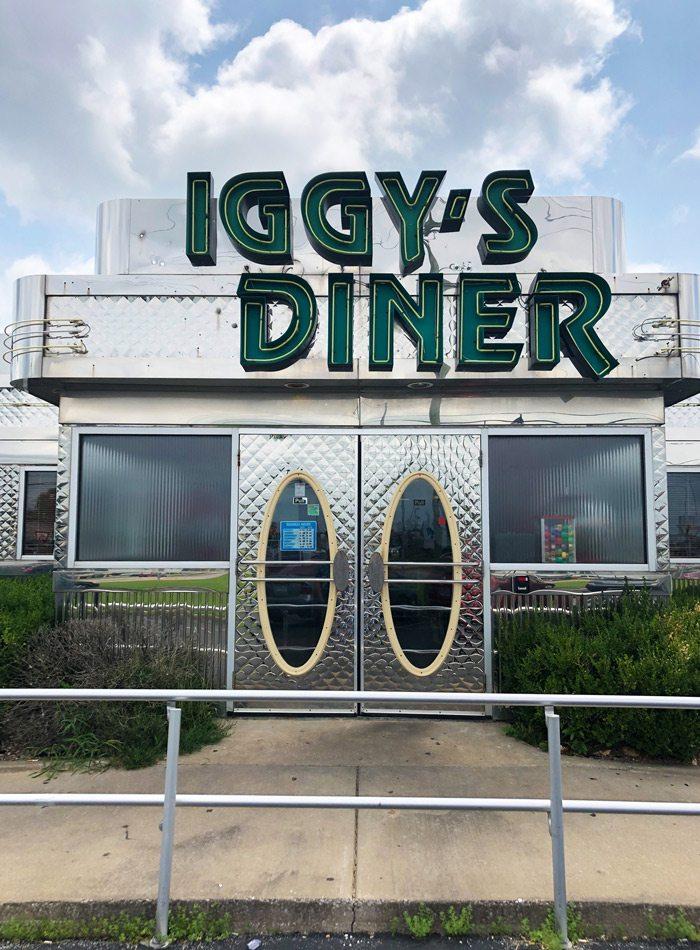 Iggy's Diner exterior.
