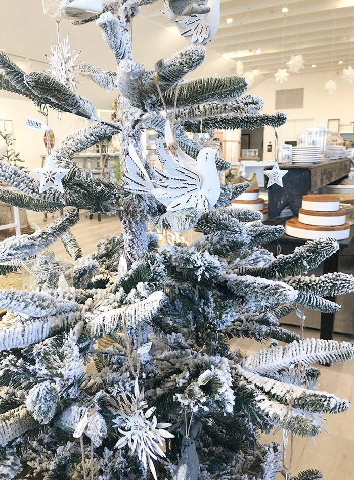 Christmas tree on display at House Counsel