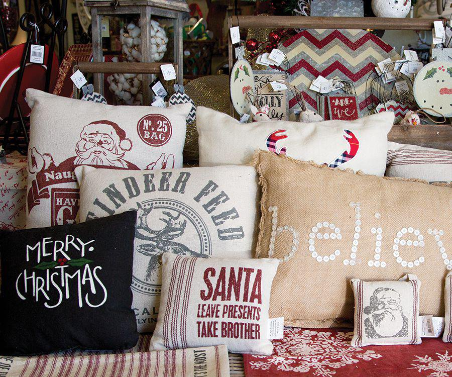 Pillows for the holidays
