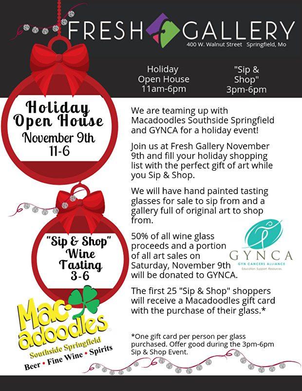 Holiday Sip & Shop in Springfield, MO