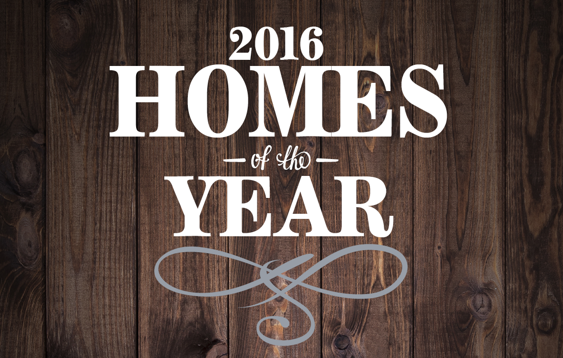 Homes of the Year 2016 Text Image