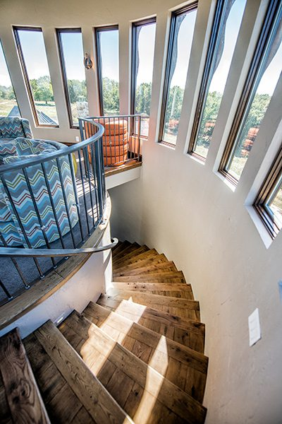 417 Home - Homes of the Year 2016 - $1 Million Plus Winner - Observatory Stairs