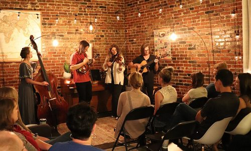 Lamplight Sessions house concert in Springfield MO
