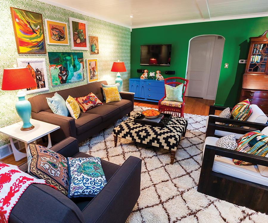 Debbie Sutliff's living room.