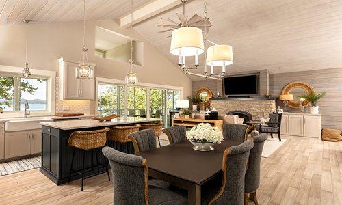 Cape Cod Style Lakeside Home
