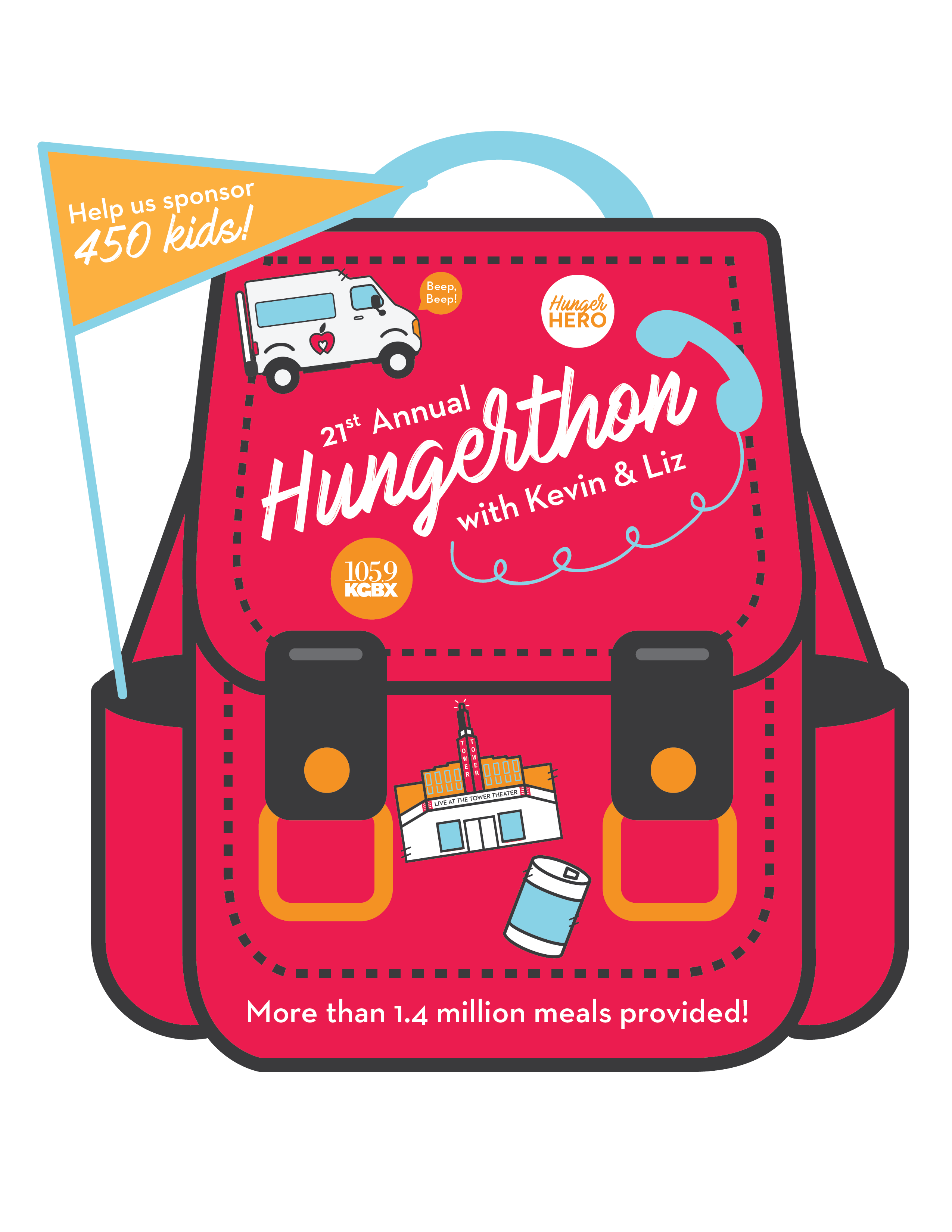 Annual Hungerthon in Springfield, MO.