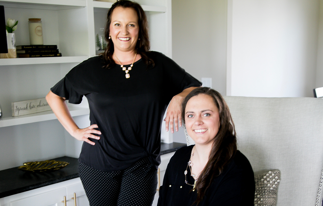 Chelsee and Natasha Nest Interiors + Design