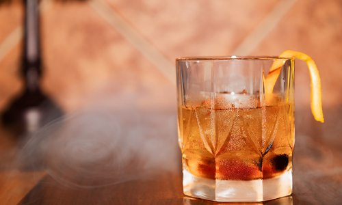 Smoked Old Fashioned from The Finley