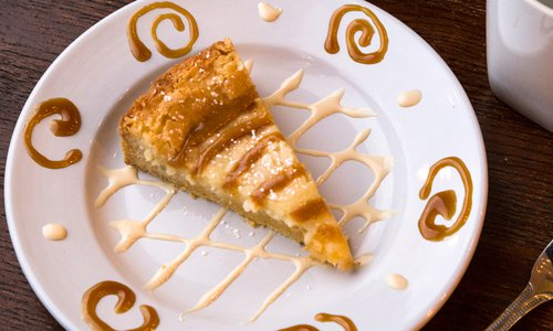 Salted Caramel Butter Cake from Piccolo Contemporary Italian