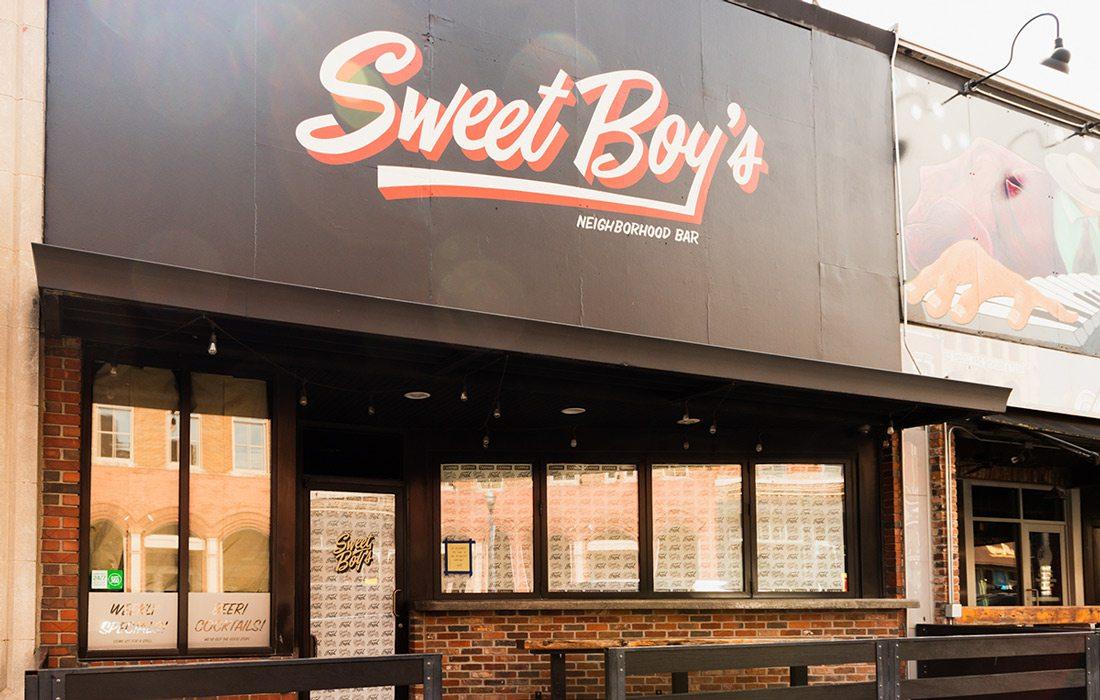 Sweet Boy's Neighborhood Bar in Downtown Springfield, MO