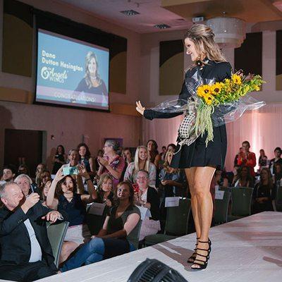 10 Most Beautiful Women winner on the runway - 417 Magazine's Indulge