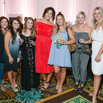 Group of young women enjoying an event - 417 Magazine's Indulge