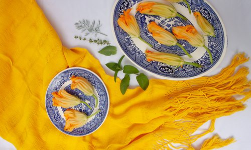 Squash blossoms gardening and culinary tips